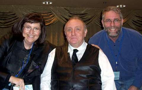 Connie & Michael with Richard Bandler, Co-Founder of NLP